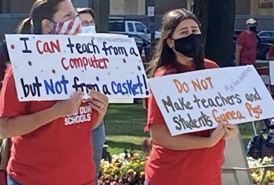 Teacher Unions Continue to Thwart School Re-Openings, Demand Money