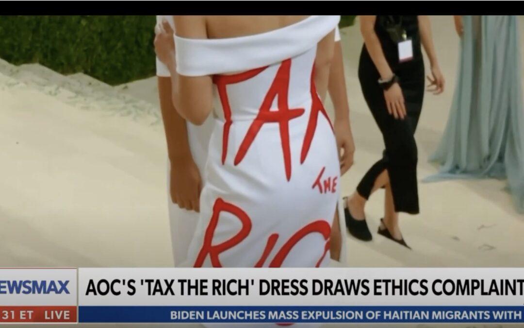 Newsmax: Kamenar Says AOC is 'Walking Ethics Violation'