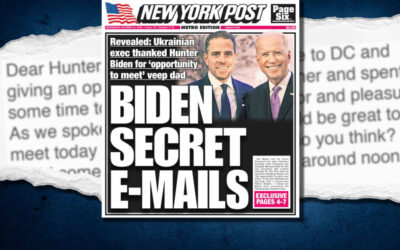 NYTimes Busted:  Stealth-Edits Article About NYPost's Accurate Hunter Biden Reporting