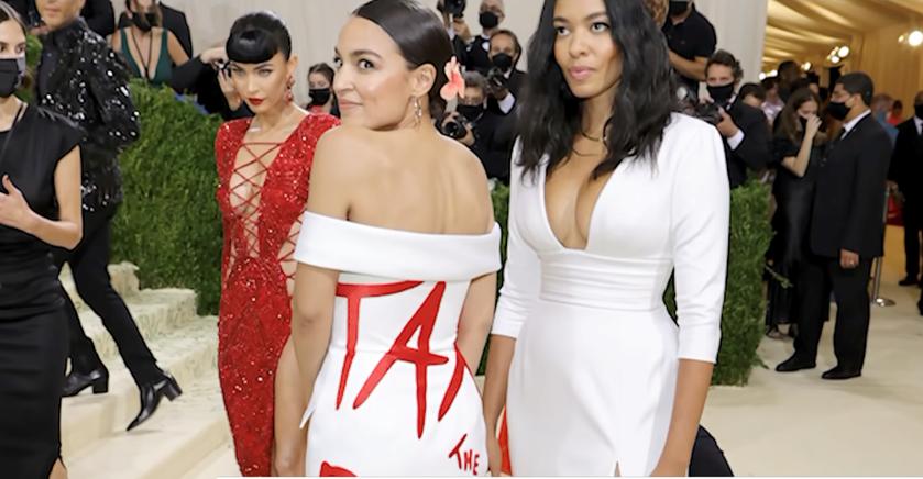 AOC's 'Tax the Rich' Dress Draws Ethics Complaint